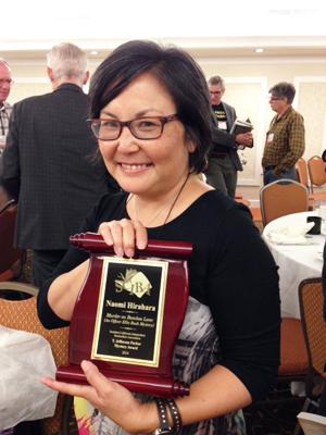 Naomi Hirahara Awarded
