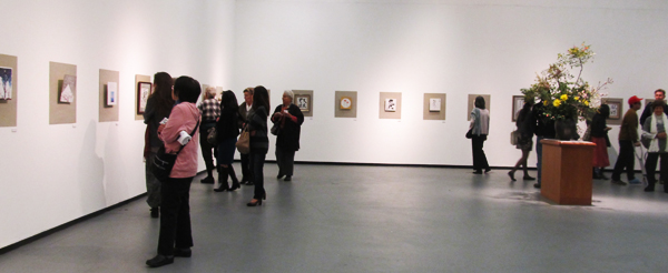 17th Annual Shikishi Exhibition at Gorge J. Doizaki Gallery in Little Tokyo. (Cultural News Photo)