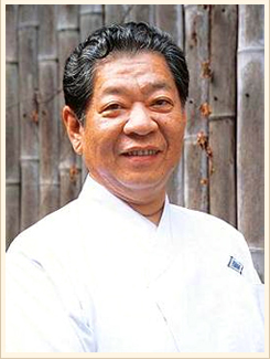 Mr. Yoshihiro Murata, driving force of registering the Japanese cuisine as World Cultural Heritage.