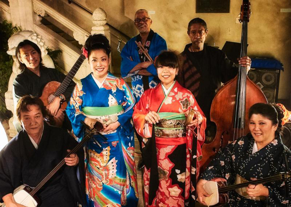 Minyo Station, a group of contemporary Japanese folk music performers