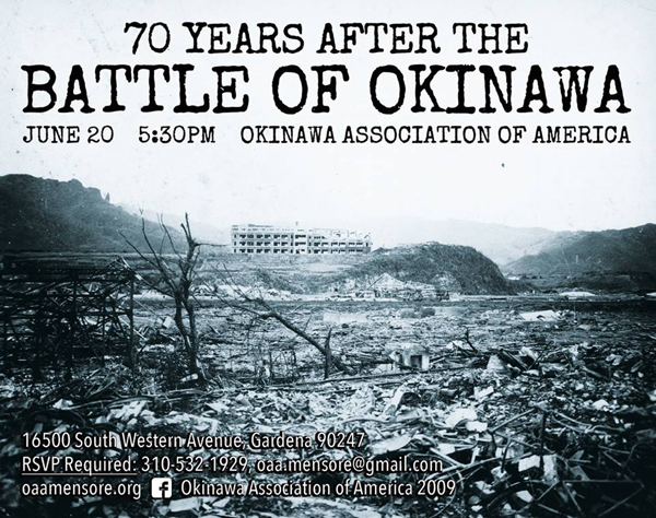 Battle of Okinawa Lecture