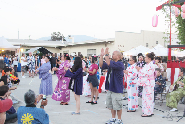 """""""Obon"""" summer festival 2015 at Valley Japanese Community Center in Sun Valley. (Cultural News Photo)"""