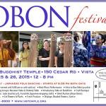 Vista Temple Obon 2015