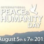International Peace & Humanity Day 2015