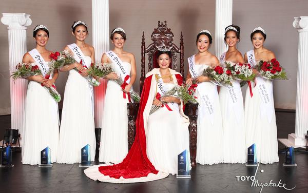 Nisei Week Queen 2015 and Court