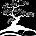 North American Japanese Garden Association Logo Icon