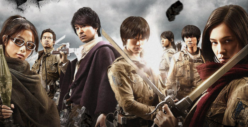Attack On Titan: Based on Hajime Isayama's popular manga series, this two-part Japanese live-action film pits humanity against a race of man-eating giants.