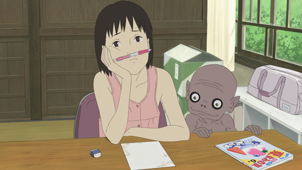"""Anime """"A Letter to Momo"""""""