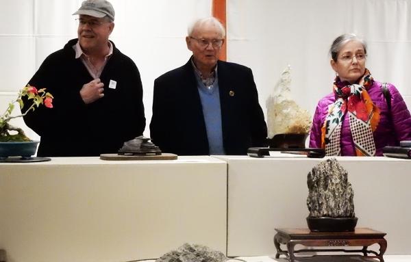 Viewing Stones Exhibition by California Aiseki Kai at Huntington Library. (Cultural News Photo)