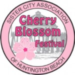 Huntington Beach Sister City Cherry Blossom Festival Logo