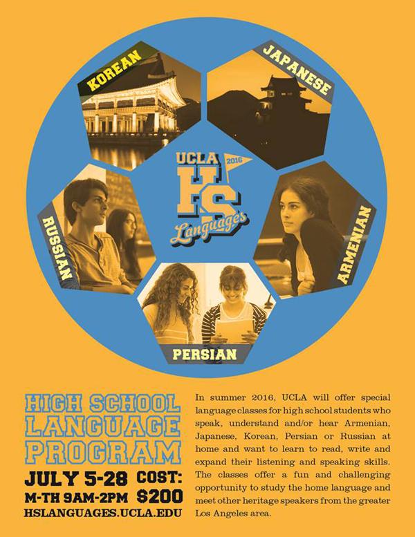 UCLA Language Program for High School Students