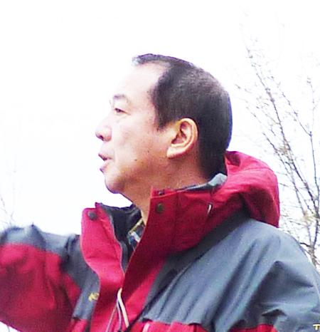 Landscape designer Shiro Nakane