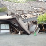 Earthquake at Kumamoto Castle (Cultural News Photo)