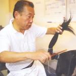 Japanese wig stylist, Tokuo Toyotani