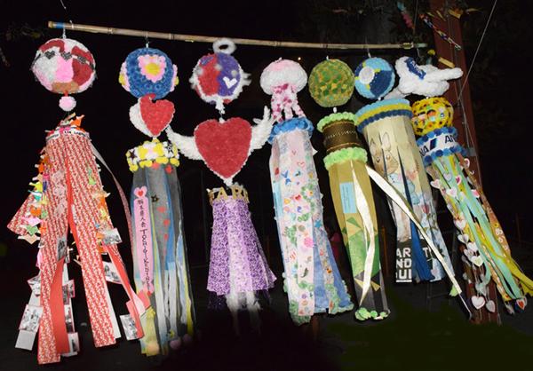 Winner kazari of the 2015 Los Angeles Tanabata Contest (Photo by Richard Fukuhara)