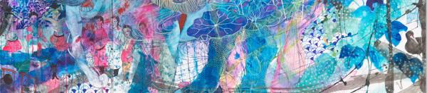 A work by Wakana Kimura (detail)