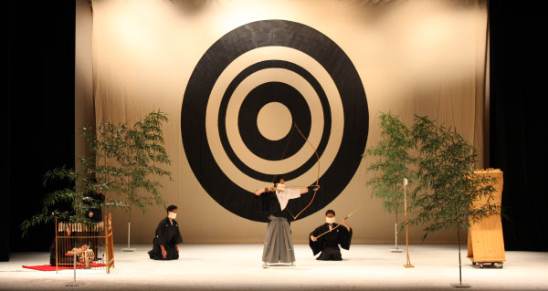 """Kotohajime"" performance at Aratani Theatre (Courtesy of the JACCC)"