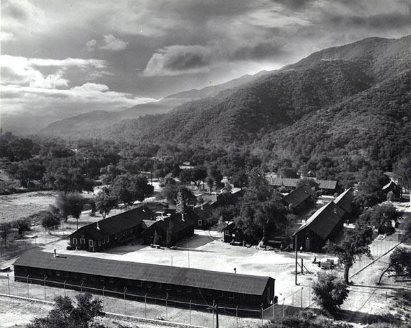 Tuna Canyon detention Station Photo: Courtesy of the Merrill H. Scott family.