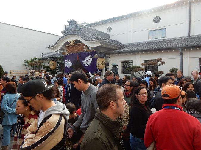 Koyasan Buddhist Temple draws (Cultural News Photo)