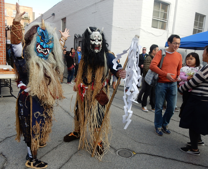 "Japanese folklore ""Namahage"" (Cultural News Photo)"