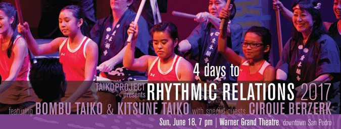 TAIKOPROJECT Rhythmic Relations 2017