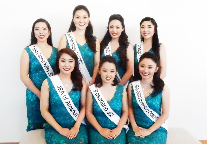 2017 Nisei Week Queen Candidates