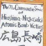 Hiroshima Memorial Service
