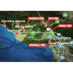 Wildfire Map Fox 11 Los Angeles