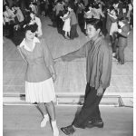 Swing dance at a wartime incerceration camp