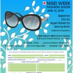 Nisei Week Fashion Show Flyer