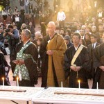 JACCC Quake Victims Memorial Buddhist Monks