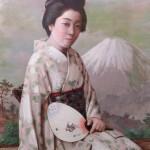 Rakusai Women Fan Pacific Asia Museum