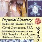 Huchinson Center for the Arts Shibori Imperial Mystery