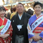 Miss Kimono LA Winners and Mr Suio