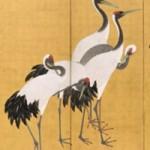 LACMA Maruyama Okyo Screens Cranes