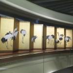 20130125 LACMA JP Okyo Cranes Screens