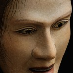 20130302 Scripps College Noh Cordelia mask