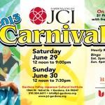 2013 Gardena JCI Carnival
