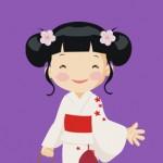 Bon Odori Ondo Dancing Yukata Logo