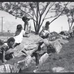 Manzanar Japanese Garden in 1943