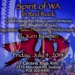 Ken Koshio Spirit of WA in Red Rock