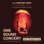 LA Matsuri Taiko One Sound Concert
