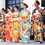 News Year's Day event Kimono Show